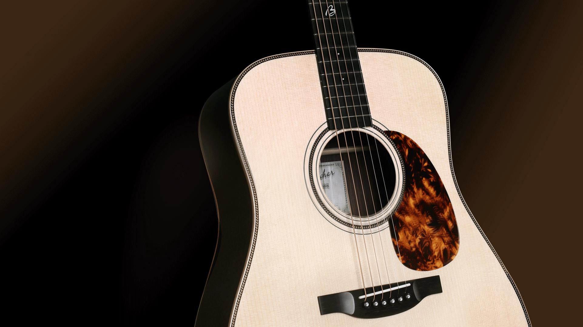 Guitare Boucher série Bluegrass goose